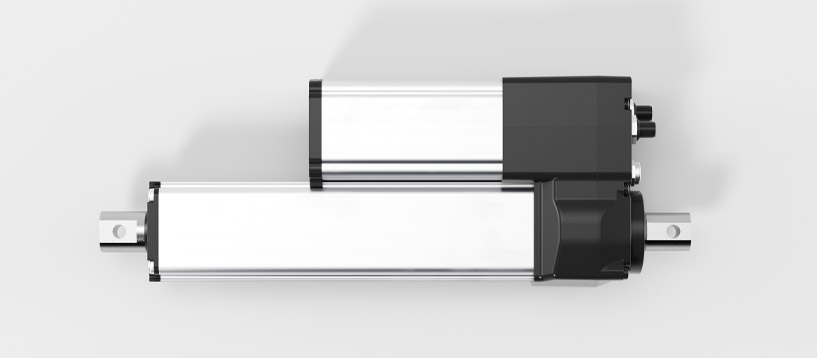 Linear drive LD1000 side view