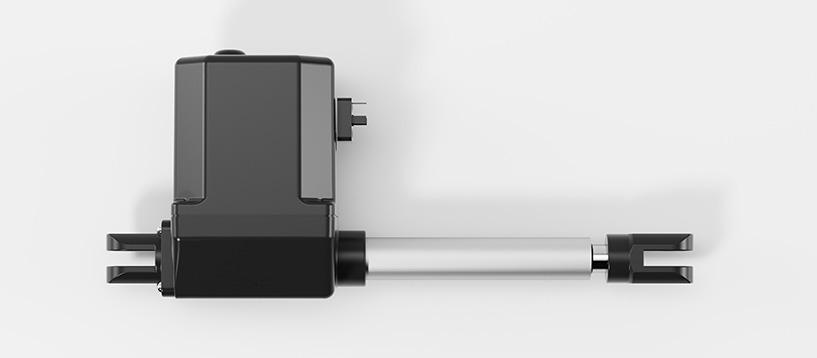 Elektrozylinder LAMBDA Ansicht seite