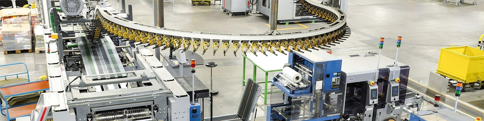 Elektrozylinder Anwendungen bei Logistikanlagen für Zuführungssysteme und Klappenbetätigung